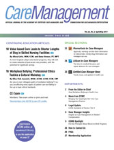 CareManagement April/May 2017