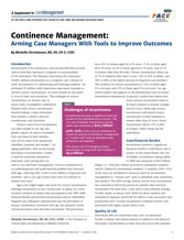 Continence Management Supplement
